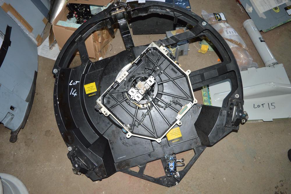 Aircraft radar rotator Approximately 1000mm in diameter