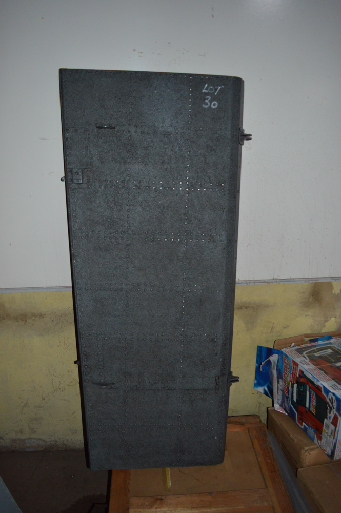 Sea King helicopter hull door Approximately 1400mm x 600mm