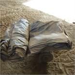 Qty black plastic sheets