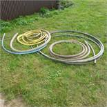 Qty plastic drainage piping and alkathene piping