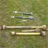 Quantity of top links and PTO shafts