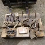 Pallet of sundry cultivator spares,