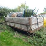 Wheatly 2 wheel trailer and contents