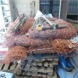 Rolls of electric sheep/rabbit netting x 14