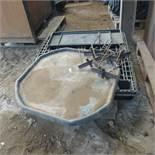 Qty plastic spill trays