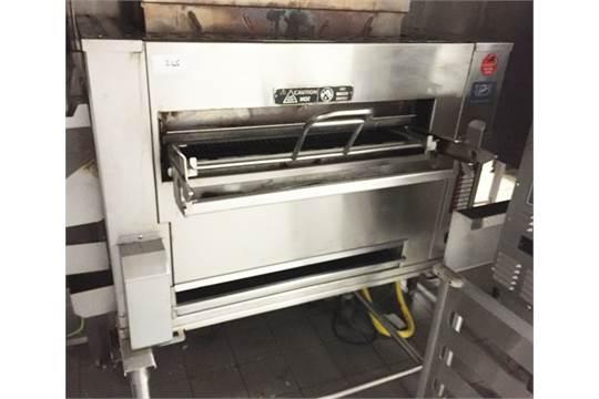 1 x Duke Flexible Batch Broiler - Used in Burger King