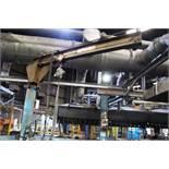 Pillar swivel crane, 360°, 700kg capacity, Please note: purchaser must ensure thorough examination