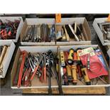 Lot of Assorted Pliers, Files, Brushes and Flash Lights | (Location G61)