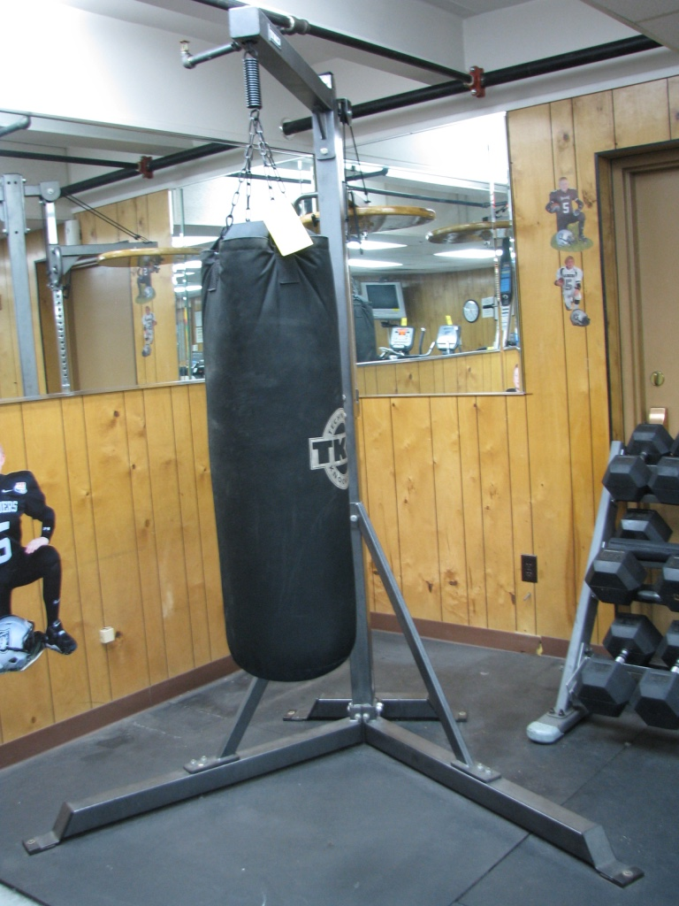 Lot 150 Tko Heavy Punching Bag On Commercial Stand With Sd