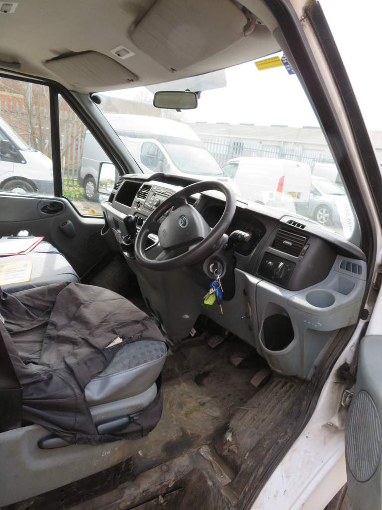 Lot 15 - 2009 Ford Transit T350L Double Cab Tipper - FX09 HVL