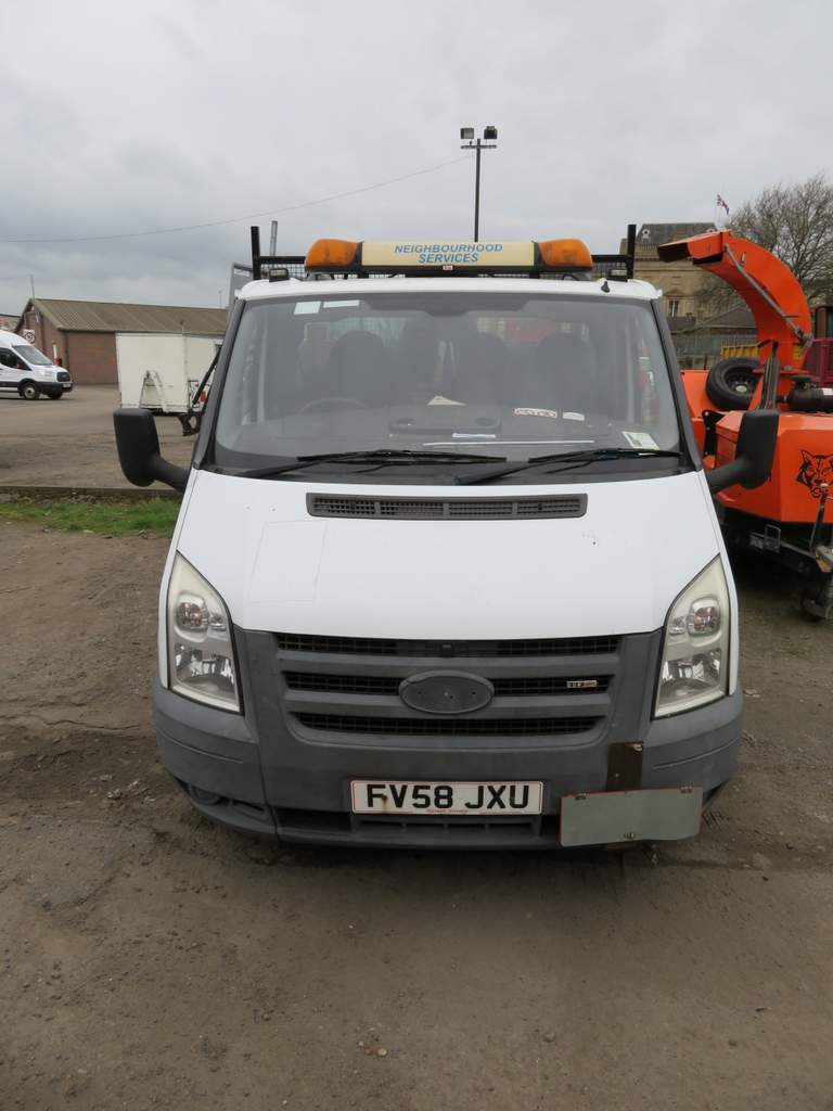 Lot 2 - 2008 (58) Ford Transit T350M Demountable Tipper & Box Body - FV58 JXU