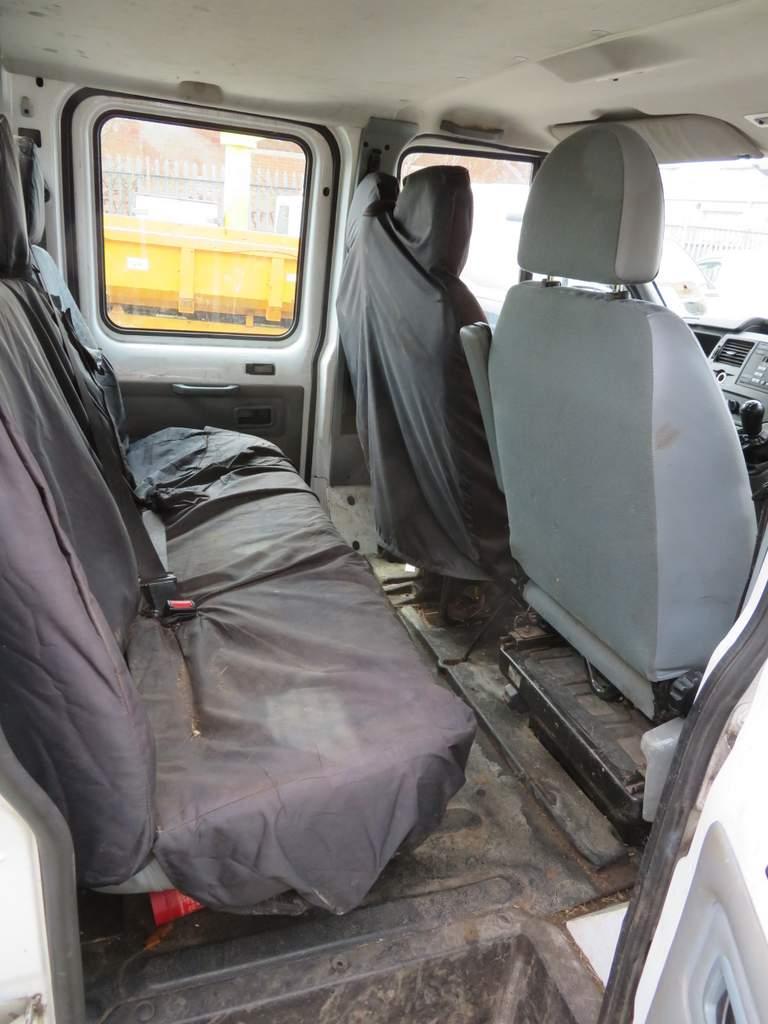 Lot 14 - 2009 Ford Transit T350L Double Cab Tipper - FX09 YCE