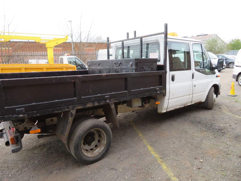 Lot 10 - 2009 Ford Transit T350L Double Cab Tipper - FX09 YDP