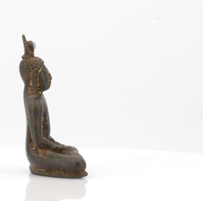 IMPORTANT BUDDHA SAMADHI. Origin: Sri Lanka. Dynasty: Anaradhapura period (377 BC-1017AD). Date: - Image 4 of 6