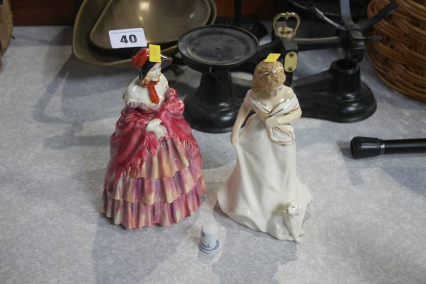 Lot 40 - Two Royal Doulton figures