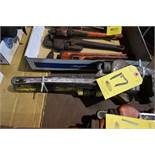 "(3) PIPE WRENCHES 14"", 18"", 24"""