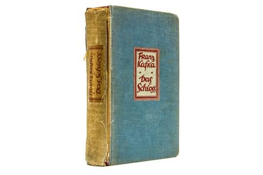 Kafka (Franz) - Das Schloss [The Castle], first edition , internally