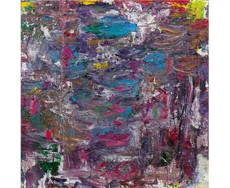 Nikolaus Moser* o.T., 2012 Öl auf Leinwand; ungerahmt, 130 x 130 cm Rückseitig signiert und datiert: Moser Niko 2012 Privatb