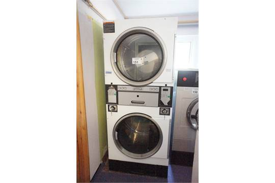 Surprising 1 Primus Double Stack Gas Fired Commercial Tumble Dryer Located In Wiring Digital Resources Jonipongeslowmaporg