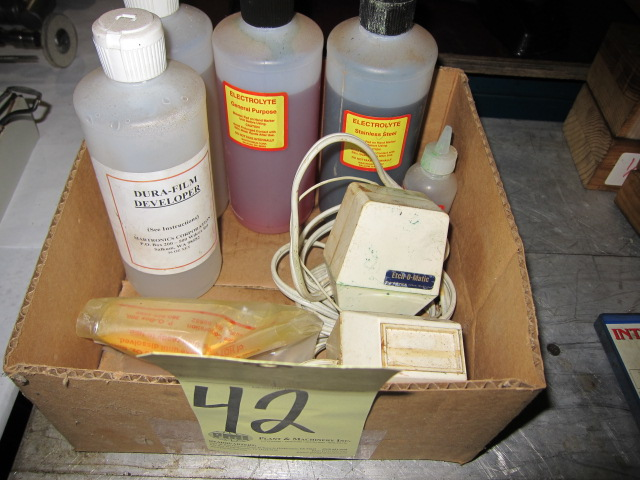 Lot 42 - LOT OF ETCHERS (2), ETCH-O-MATIC