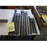 Lot 60 - LOT OF SPADE DRILLS (10), assorted