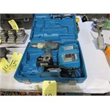 Lot 12 - DRILL, MAKITA, 18 v., battery pwrd.