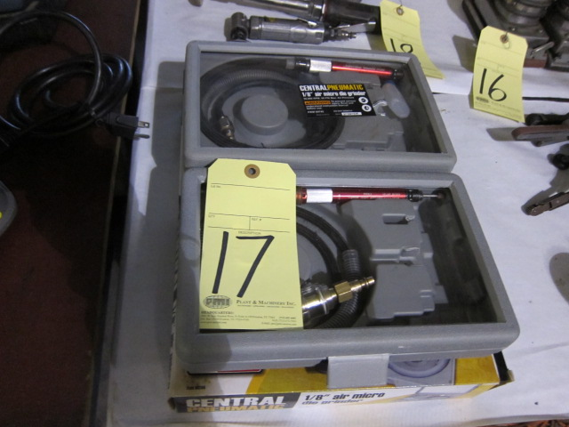 Lot 17 - LOT OF MICRO DIE GRINDERS (2), CENTRAL PNEUMATIC