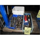 Lot 56 - LOT OF DRILLS, assorted (in four boxes)