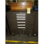 PORTABLE TOOLBOX, KENNEDY, 8-drawer