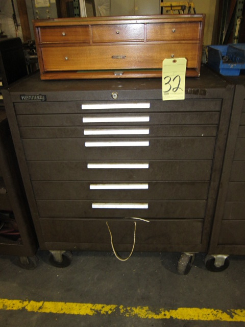 Lot 32 - PORTABLE TOOLBOX, KENNEDY, 8-drawer