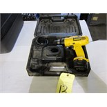 Lot 13 - DRILL, DEWALT, 9.6 v., battery pwrd.