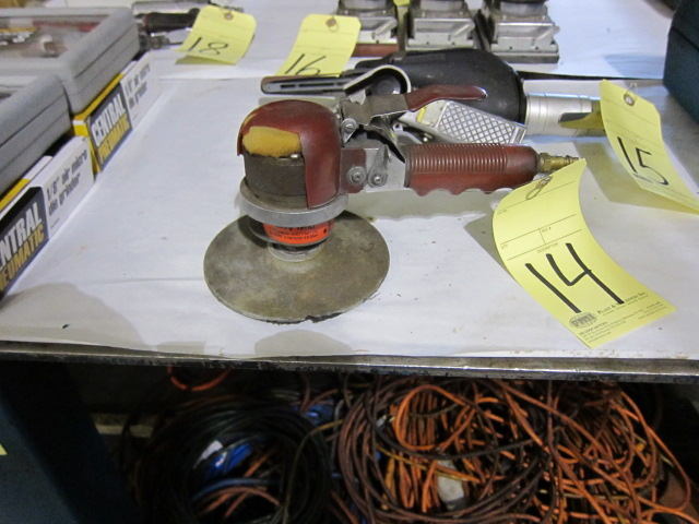 Lot 14 - PNEUMATIC DISC SANDER, 5-1/2""