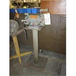 "Lot 37 - DOUBLE END PEDESTAL GRINDER, DAYTON 6"", 1/3 HP"
