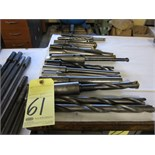 Lot 61 - LOT OF SPADE DRILLS (21), assorted
