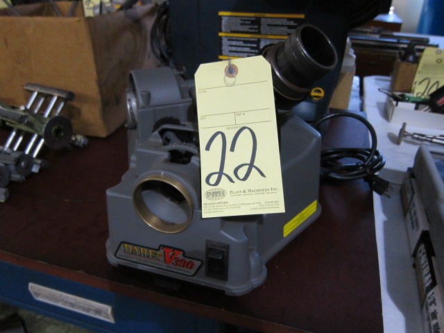 Lot 22 - DRILL SHARPENER, DAREX MDL. B390