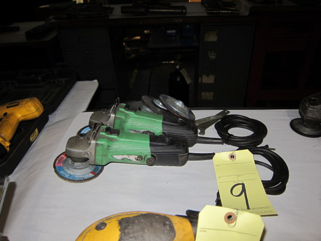 Lot 9 - LOT OF RIGHT ANGLE DISC GRINDERS (2), 4-1/2""