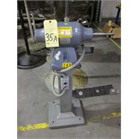 Lot 35A - SINGLE END PEDESTAL GRINDER, BALDOR, 3/4 HP