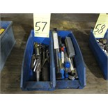 Lot 57 - LOT OF ENDMILLS, assorted (in two boxes)