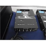 LEVITON 4-channel programable dimmer pack, mod: D4DMX-MDS….