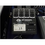 ADJ 4-channel DMX pack, output 10a/ch total 15 amps max