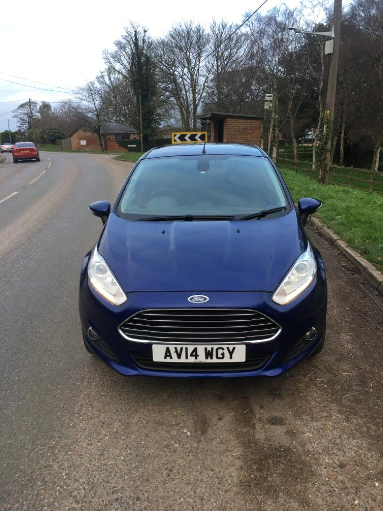 Lot 4 - 2014 FORD FIESTA TITANIUM TDCI 5 DOOR HATCHBACK