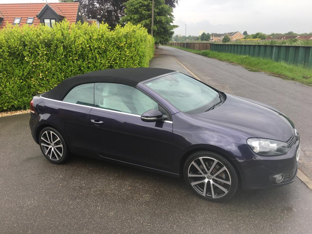 Lot 10 - 2012 VOLKSWAGEN GOLF GT BLUEMOTION TECH TDI CONVERTIBLE