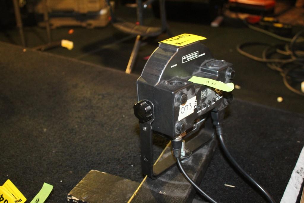 Lot 1043 - AMERICAN DJ MODEL MEGA PAR PROFILE DMX RGB LED LIGHT