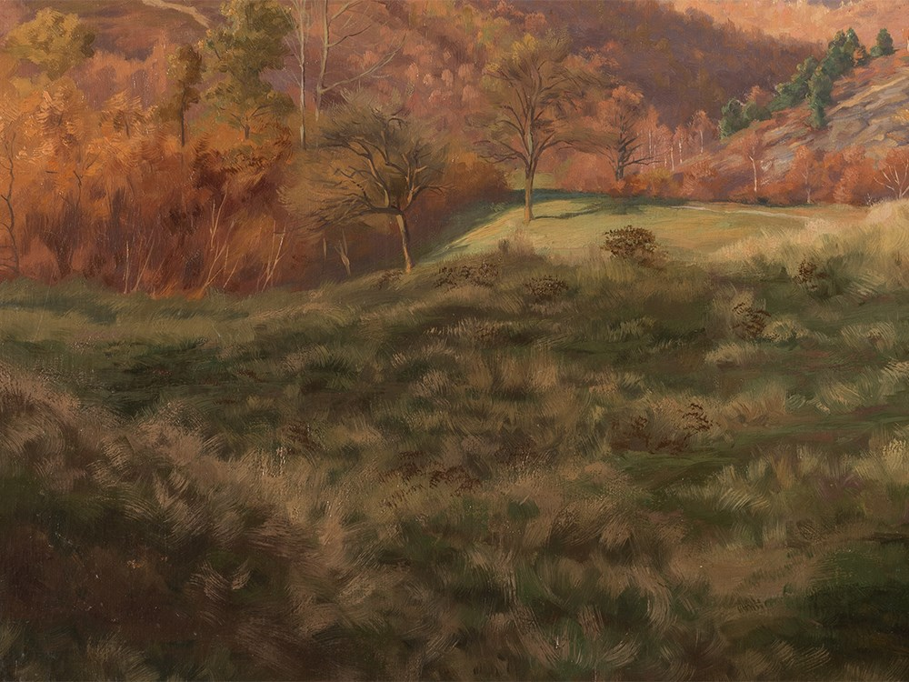 Lot 83 - Walter Prell (1857-1936), Autumn Landscape, Painting, 20th C. Oil on canvasPresumably Germany, early