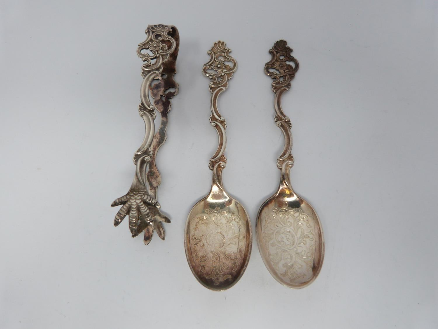 A collection of silver and enamel spoons, Norwegian and English, three spoons in a case, - Image 16 of 17