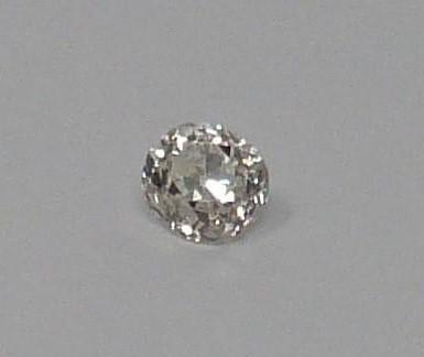 A Cushion shape loose old mine diamond, tinted SI, approx 0.54 cts - Image 2 of 5