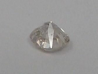 A Cushion shape loose old mine diamond, tinted SI, approx 0.54 cts