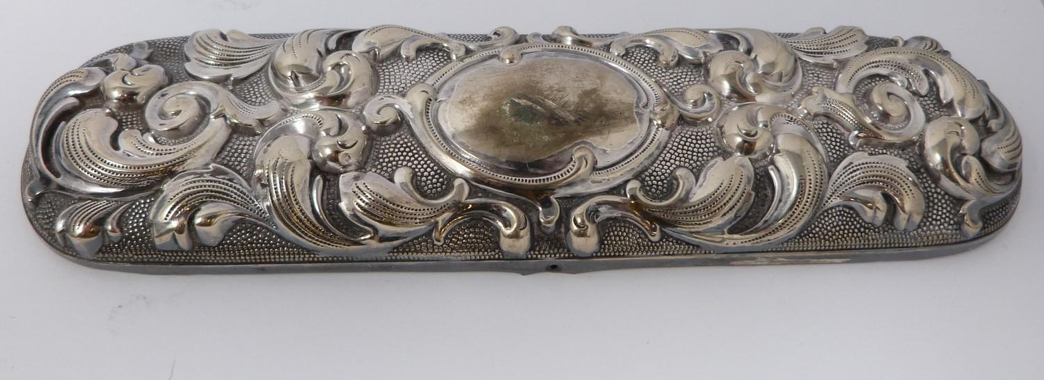 A collection of silver plated cutlery, cup covers and other items. - Image 4 of 4