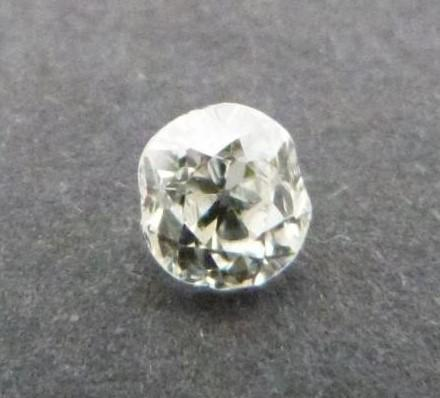 A Cushion shape loose old mine diamond, tinted SI, approx 0.54 cts - Image 5 of 5