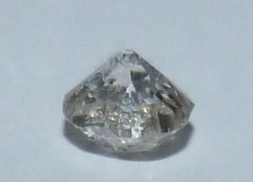 Loose cushion old mine diamond, J, SI, approx 0.5 cts, slight chip to the side. - Image 2 of 6